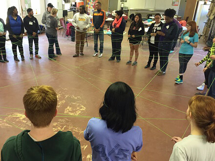 Web of Reflection Team Building