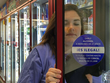 How to Conduct a Warning Glass Cling Campaign