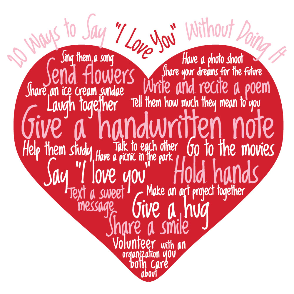 20 different ways to say i love you